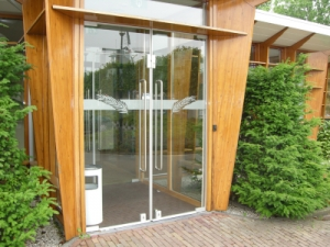 Hardglas deuren
